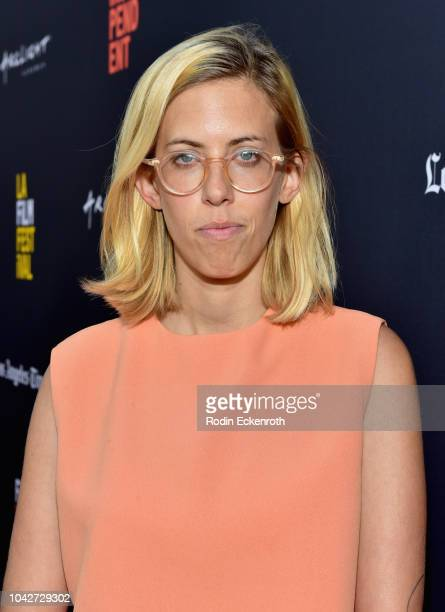 """Claire Buss attends the Closing Night Screening of """"Nomis"""" during the 2018 LA Film Festival at ArcLight Cinerama Dome on September 28, 2018 in..."""