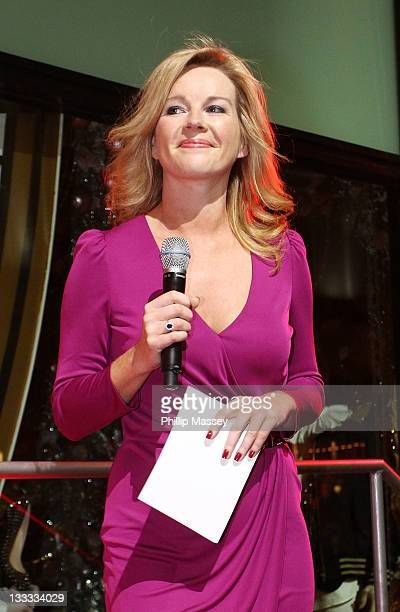 Claire Byrne attends the launch of Brown Thomas' Christmas windows on November 18, 2011 in Dublin, Ireland.