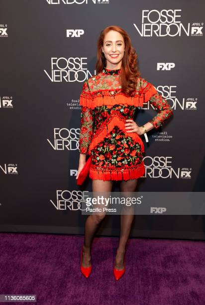 Claire Camp attends premiere Fosse/Verdon by FX Network at Gerald Schoenfeld Theatre