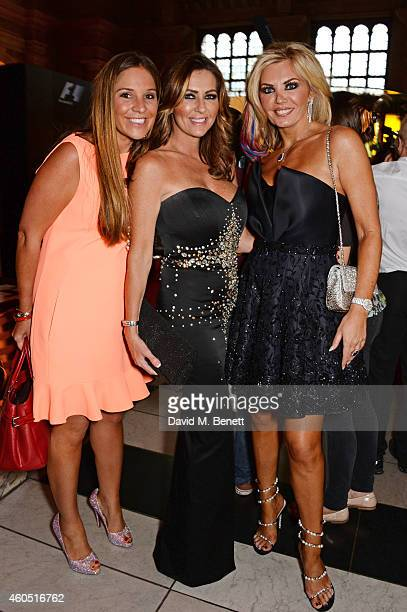 Claire Caudwell and guests attend The F1 Party in aid of the Great Ormond Street Children's Hospital at the Victoria and Albert Museum on July 2 2014...