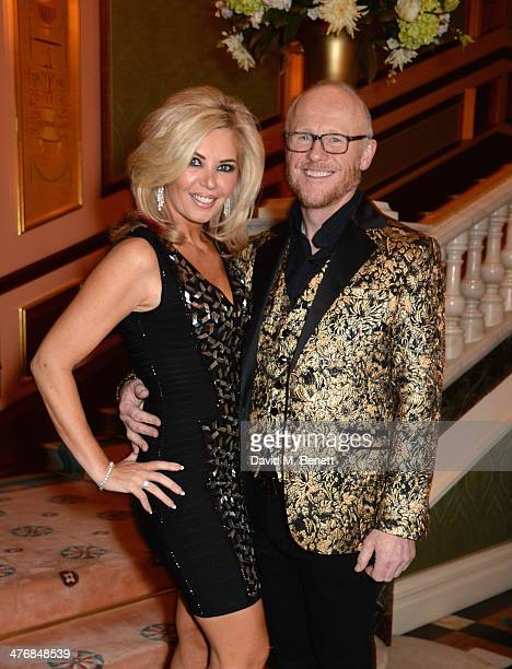 Claire Caudwell and John Caudwell attend a dinner hosted by John Caudwell on March 5 2014 in London England