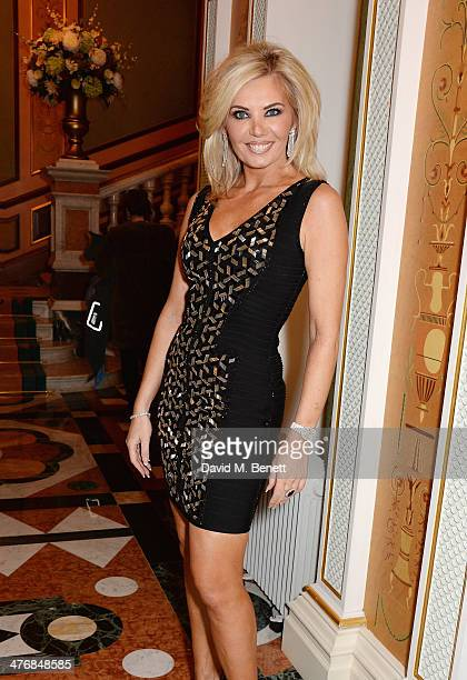 Claire Caudwell attends a dinner hosted by John Caudwell on March 5 2014 in London England