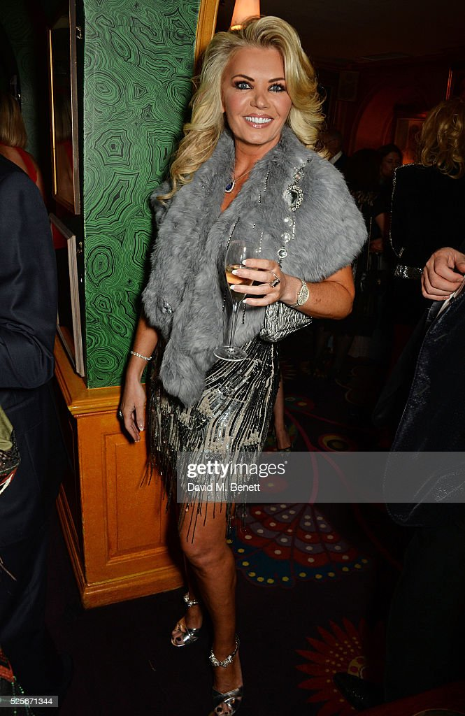 Claire Caudwell attends a private dinner hosted by Fawaz Gruosi, founder of de Grisogono, at Annabels on April 28, 2016 in London, England.