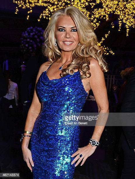 Claire Caudwell attends Lisa Tchenguiz's 50th birthday party at the Troxy on January 24 2015 in London England