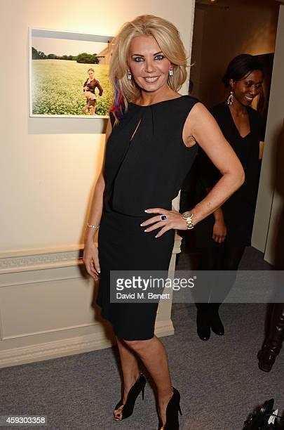 Claire Caudwell attends the book launch and private view of Mary McCartney Monochrome And Colour curated by De Pury De Pury on November 20 2014 in...