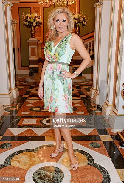 Claire Caudwell attends the Caudwell Children Butterfly Ball launch breakfast 2014 at Ancaster House on March 12 2014 in London England