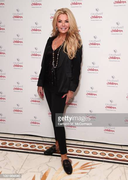 Claire Caudwell attends the Caudwell Children London Ladies Lunch held at The Dorchester on October 12 2018 in London England