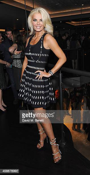 Claire Caudwell attends the M Restaurant launch party on November 12 2014 in London England