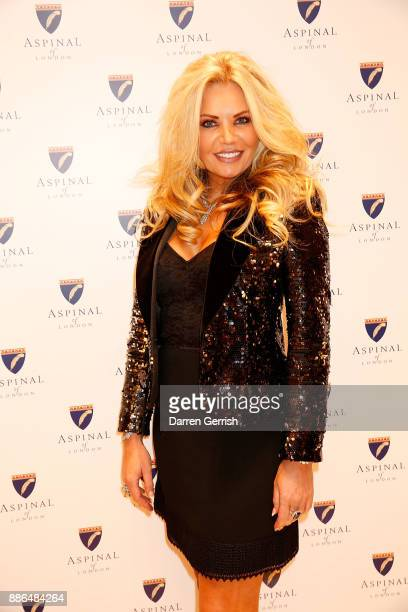 Claire Caudwell attends the new flagship store launch of Aspinal on Regent's Street St James's on December 5 2017 in London England