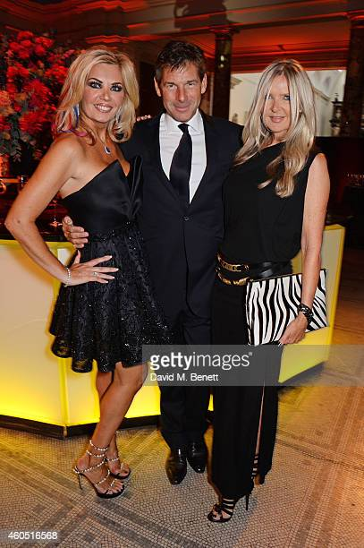 Claire Caudwell Hugh Morrison and Amanda Wakeley attend The F1 Party in aid of the Great Ormond Street Children's Hospital at the Victoria and Albert...