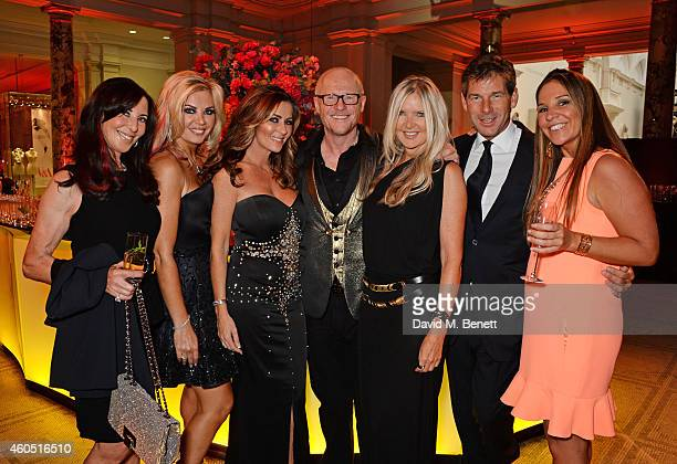 Claire Caudwell John Caudwell Amanda Wakeley and Hugh Morrison attend The F1 Party in aid of the Great Ormond Street Children's Hospital at the...