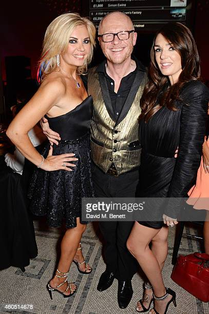 Claire Caudwell John Caudwell and Tamara Ecclestone attend The F1 Party in aid of the Great Ormond Street Children's Hospital at the Victoria and...