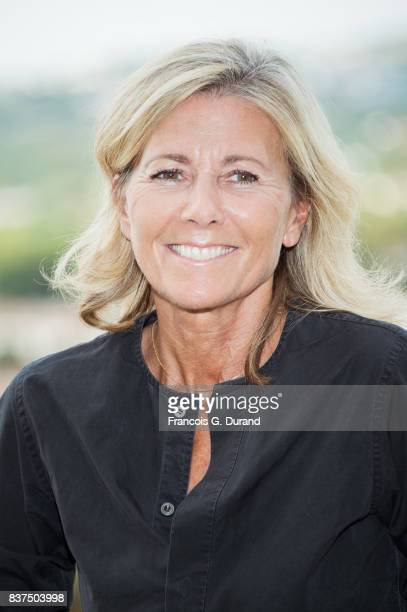 Claire Chazal attends the Jury photocall during the 10th Angouleme FrenchSpeaking Film Festival on August 22 2017 in Angouleme France
