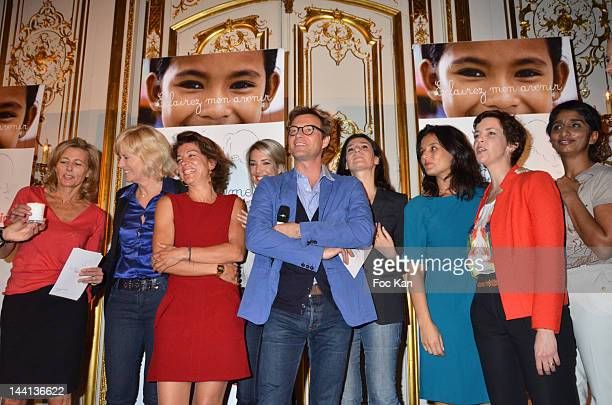 Claire Chazal Catherine Ceylac Marielle Fournier Sidonie Bonnec Laurent Delahousse Marie Drucker Faustine Bollaert Nathalie Renoux and Patricia...