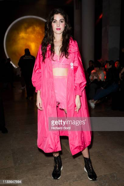 Claire Chust attends the Shiatzy Chen show as part of the Paris Fashion Week Womenswear Fall/Winter 2019/2020 on March 04 2019 in Paris France