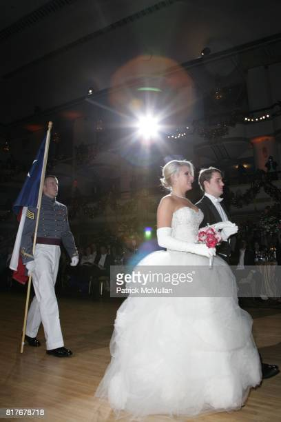 Claire Crenshaw and John Phillips attend THE 56TH INTERNATIONAL DEBUTANTE BALL at Waldorf Astoria on December 29 2010 in New York City