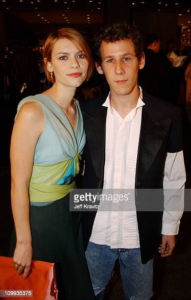 Claire Danes and Ben Lee during 2002 VH1 Vogue Fashion Awards Arrivals at Radio City Music Hall in New York City New York United States