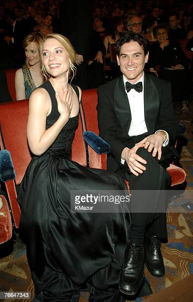 """Claire Danes and Billy Crudup, nominee Best Performance by a Leading Actor in a Play for """"The Pillowman"""""""