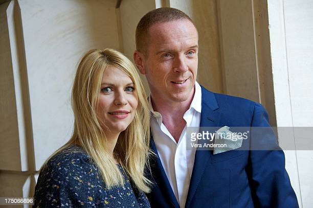 Claire Danes and Damian Lewis at the Homeland Press Conference at the Peninsula Hotel on July 29 2013 in Beverly Hills California