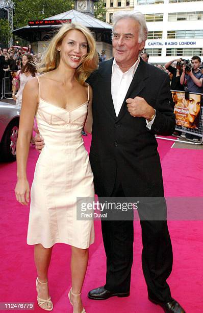 """Claire Danes and director Richard Eyre during """"Stage Beauty"""" London Premiere - Arrivals at Odeon Westend Leicester Square in London, England, United..."""