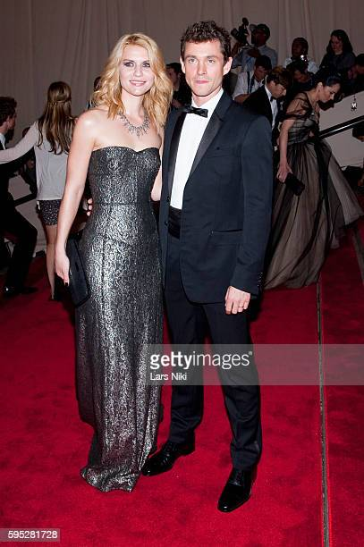 Claire Danes and Hugh Dancy attend 'American Woman Fashioning A National Identity' Costume Institute Gala at The Metropolitan Museum of Art in New...