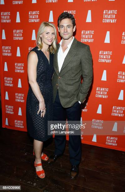 Claire Danes and Hugh Dancy attend 'Darren Brown Secret' opening night celebration at Atlantic Theater Company on May 16 2017 in New York City