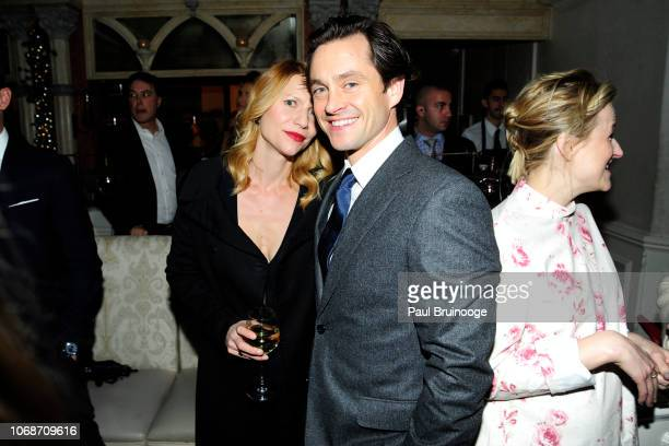Claire Danes and Hugh Dancy attend Focus Features Hosts The After Party For 'Mary Queen of Scots' at Tavern On The Green on December 4 2018 in New...