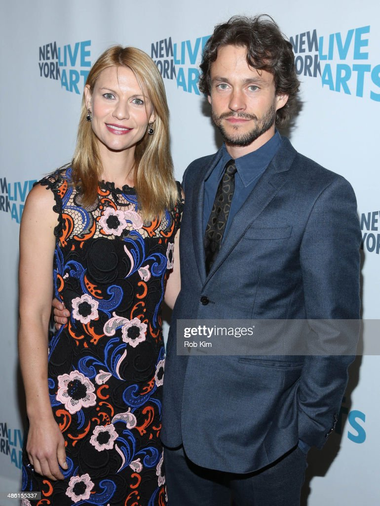 Claire Danes and Hugh Dancy attend the 2014 New York Live Arts Gala at Mandarin Oriental Hotel on April 22, 2014 in New York City.