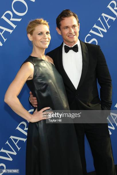 Claire Danes and Hugh Dancy attend the 2018 CFDA Awards at Brooklyn Museum on June 4 2018 in New York City