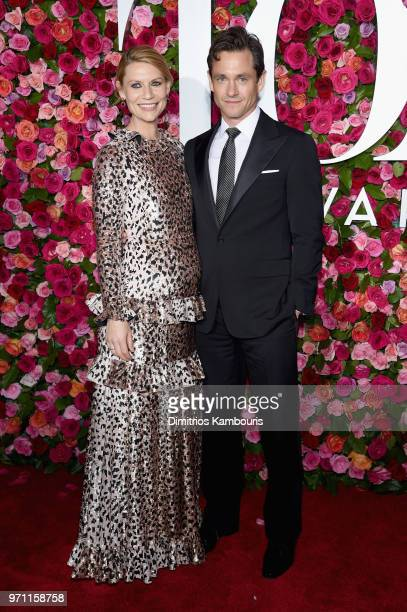 Claire Danes and Hugh Dancy attend the 72nd Annual Tony Awards at Radio City Music Hall on June 10, 2018 in New York City.