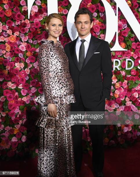 Claire Danes and Hugh Dancy attend the 72nd Annual Tony Awards at Radio City Music Hall on June 10 2018 in New York City