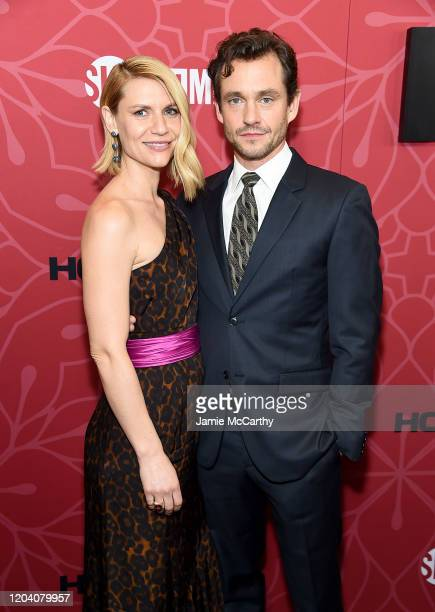 Claire Danes and Hugh Dancy attend the Homeland Season 8 Premiere at Museum of Modern Art on February 04 2020 in New York City