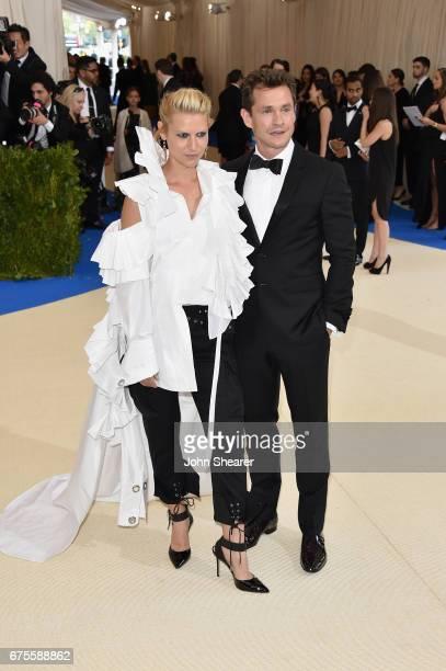 Claire Danes and Hugh Dancy attend the 'Rei Kawakubo/Comme des Garcons Art Of The InBetween' Costume Institute Gala at Metropolitan Museum of Art on...