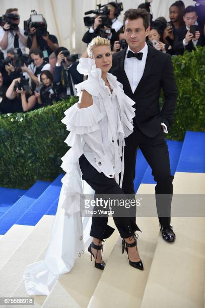 Claire Danes and Hugh Dancy attend the 'Rei Kawakubo/Comme des Garcons Art Of The InBetween' Costume Institute Gala at Metropolitan Museum of Art on...