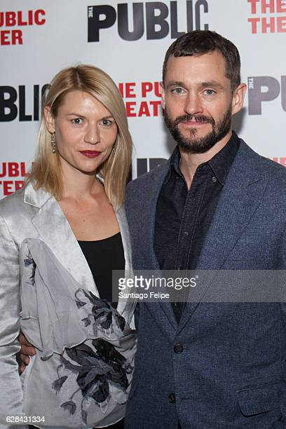 Claire Danes and Hugh Dancy attend 'Tiny Beautiful Things' Opening Night Celebration at The Public Theater on December 7 2016 in New York City
