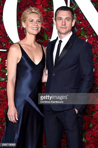 Claire Danes and Hugh Dancy attends the 70th Annual Tony Awards at The Beacon Theatre on June 12 2016 in New York City