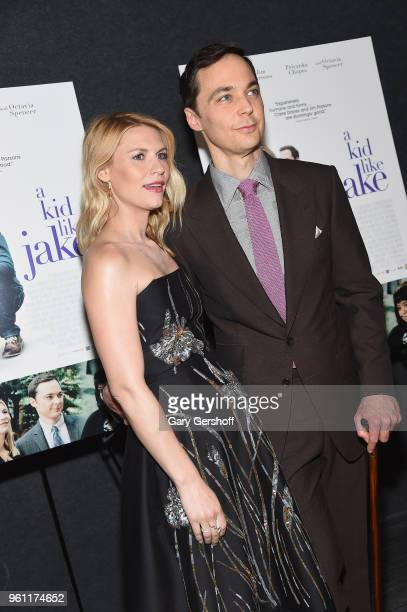 Claire Danes and Jim Parsons attend 'A Kid Like Jake' New York premiere at The Landmark at 57 West on May 21 2018 in New York City