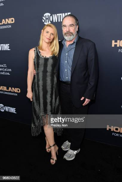 """Claire Danes and Mandy Patinkin attend FYC Event For Showtime's """"Homeland"""" - Red Carpet at Writers Guild Theater on June 5, 2018 in Beverly Hills,..."""