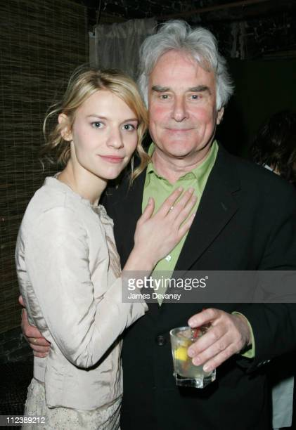 """Claire Danes and Richard Eyre during 3rd Annual Tribeca Film Festival - """"Stage Beauty"""" Premiere - After Party at SOHO: 323 Lounge in New York City,..."""