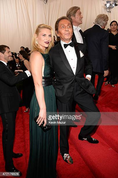 Claire Danes and Valentino Garavani attend the 'China Through The Looking Glass' Costume Institute Benefit Gala at Metropolitan Museum of Art on May...