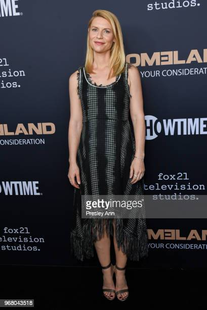 Claire Danes attends FYC Event For Showtime's 'Homeland' Red Carpet at Writers Guild Theater on June 5 2018 in Beverly Hills California