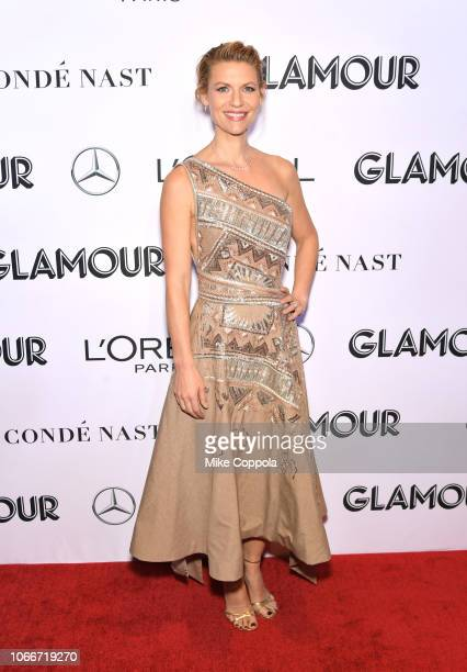 Claire Danes attends Glamour Women of the Year Awards 2018 at Spring Studios on November 12, 2018 in New York City.