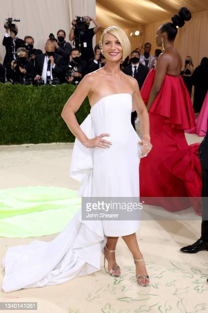 Claire Danes attends The 2021 Met Gala Celebrating In America: A Lexicon Of Fashion at Metropolitan Museum of Art on September 13, 2021 in New York...