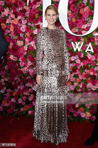Claire Danes attends the 72nd Annual Tony Awards at Radio City Music Hall on June 10 2018 in New York City