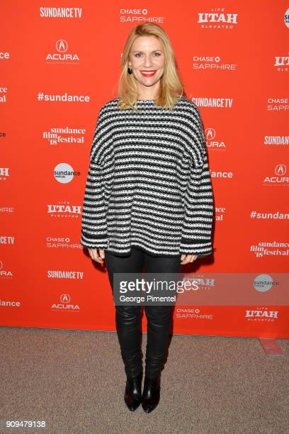 Claire Danes attends the A Kid Like Jake Premiere during the 2018 Sundance Film Festival at Eccles Center Theatre on January 23 2018 in Park City Utah