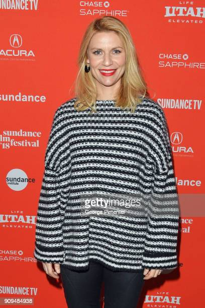 Claire Danes attends the A Kid Like Jake' Premiere during the 2018 Sundance Film Festival at Eccles Center Theatre on January 23 2018 in Park City...