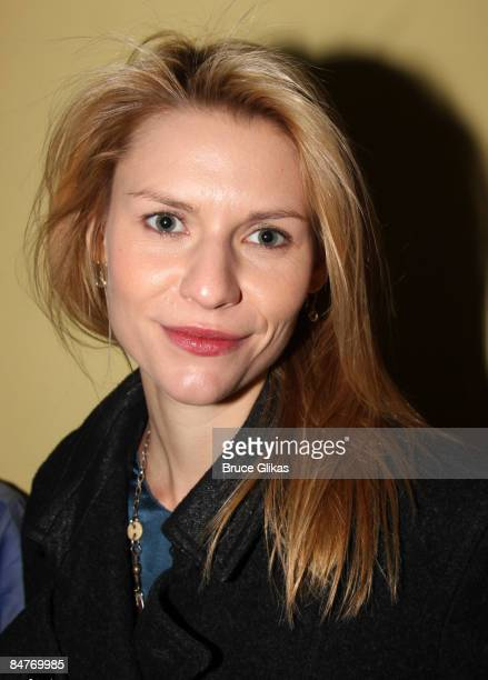 Claire Danes attends the after party for the offbroadway opening night of Uncle Vanya at Pangea on February 12 2009 in New York City