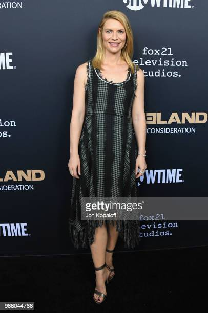 Claire Danes attends the FYC Event For Showtime's 'Homeland' at Writers Guild Theater on June 5 2018 in Beverly Hills California