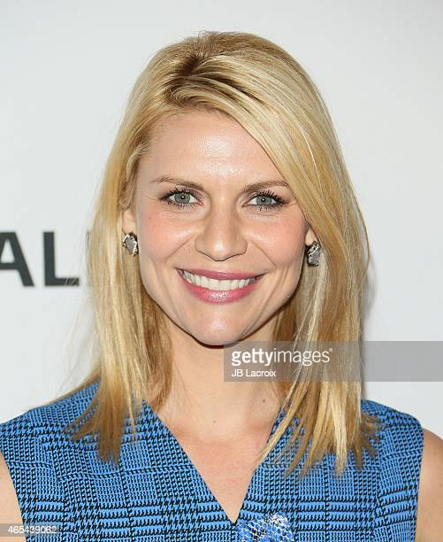 Claire Danes attends the 'Homeland' presentation during the Paley Center for Media's 32nd Annual PALEYFEST LA held at the Dolby Theater on March 6...