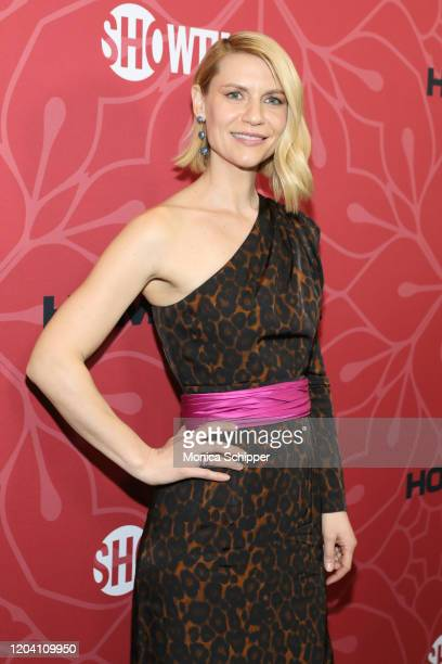 """Claire Danes attends the """"Homeland"""" Season 8 Premiere at Museum of Modern Art on February 04, 2020 in New York City."""